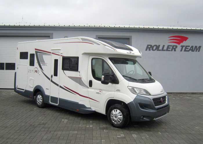 Autorizovaný prodej a servis obytných vozů ROLLER TEAM